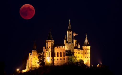 A Blood Moon in Germany